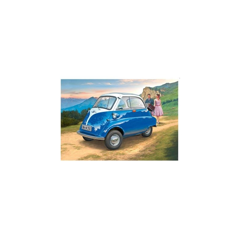 mukk m nster revell bmw isetta revell 4009803070308. Black Bedroom Furniture Sets. Home Design Ideas