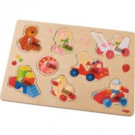HABA - Greifpuzzle Meine ersten Spielzeuge, 8 Teile