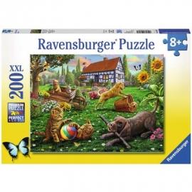 Ravensburger Puzzle - Entdecker auf vier Pfoten, 200 XXL-Teile