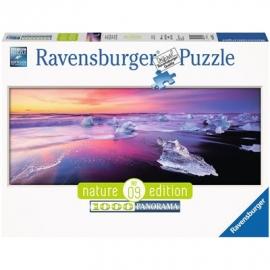Ravensburger Puzzle - Nature Edition - Jökulsárlón, Island, 1000 Teile