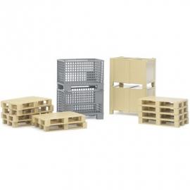 BRUDER Zubehör - Logistik-Set