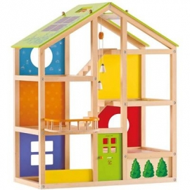 Hape - Vier-Jahreszeiten-Haus, möbliert