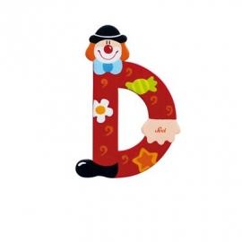 Sevi - Graffiti - Buchstabe Clown D 10 cm