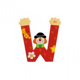 Sevi - Graffiti - Buchstabe Clown W 10 cm