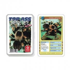 ASS Altenburger Spielkarten - TOP ASS Quartett Giftige Tiere