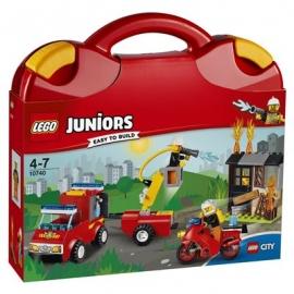 LEGO Juniors - 10740 Löschtrupp-Koffer