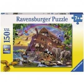 Ravensburger Puzzle - Unterwegs mit der Arche, 150 XXL-Teile