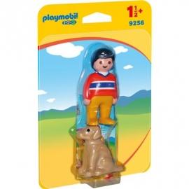Playmobil® 9256 - 1.2.3. - Mann mit Hund
