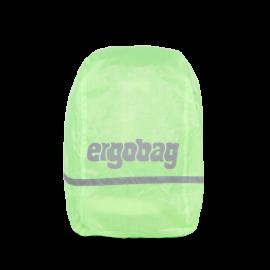 ergobag Regencape fluoreszierend Grün