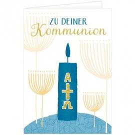 Coppenrath Verlag - Grußkarten-Set: Glückwünsche zur Kommunion (36 Ex. sort.)
