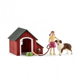 Schleich - World of Nature - Farm World - Hundehütte