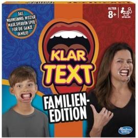Hasbro - Klartext Familien-Edition