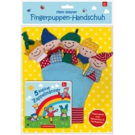 Coppenrath Verlag - 5 kleine Zappelmänner (Buch und Handschuh)