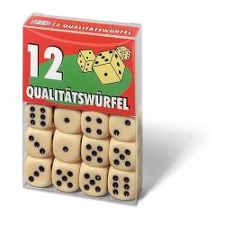 Ravensburger Spiel / FX Schmid - 12 Würfel in Klarsichtbox
