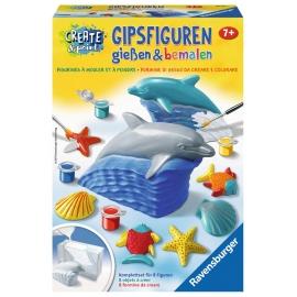 Ravensburger Spiel - Gipsfiguren gießen - Delfin