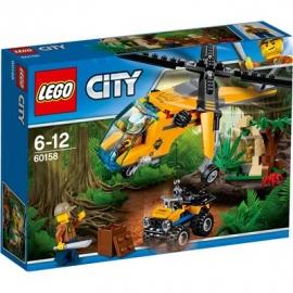 LEGO® City Dschungel Expedition - 60158 Dschungel-Frachthubschrauber