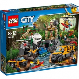 LEGO® City Dschungel Expedition - 60161 City Dschungel Expedition - Dschungel-Forschungsstation