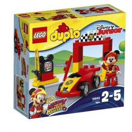 LEGO® DUPLO® - 10843 Mickys Rennwagen