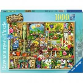 Ravensburger Puzzle - Grandioses Gartenregal, 1000 Teile