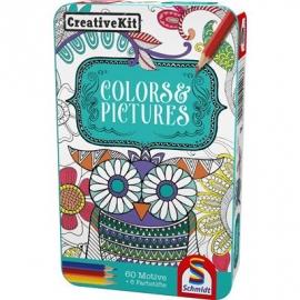 Schmidt Spiele - Creative Kit, Colors und Pictures
