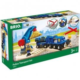 BRIO Bahn - Polizei Goldtransport-Set