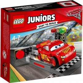 LEGO® Junior Cars 3 - 10730 Lightning McQueens Beschleunigungsrampe