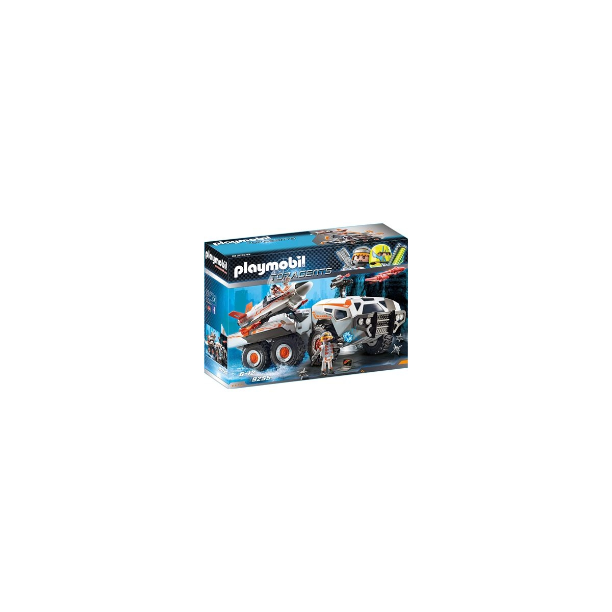 Playmobil® 9255 - Top Agents - Spy Team Battle Truck. Loading zoom