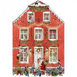 Coppenrath Verlag - Weihnachten bei uns Zuhaus, Aufstell-Adventskalender