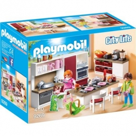 Playmobil® 9269 - City Life - Große Familienküche