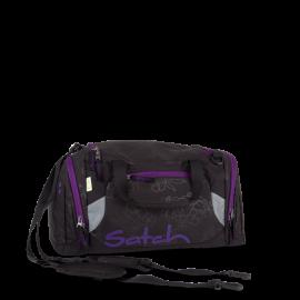 satch Sporttasche -  Purple Hibiscus