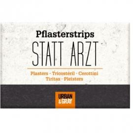 Die Spiegelburg - Pflasterstrips STATT ARZT Urban&Gray (10 St.)