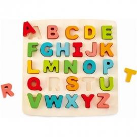 Hape - Puzzle mit Großbuchstaben, 27 Teile