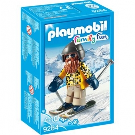 Playmobil® 9284 - Family Fun - Skifahrer mit Snowblades