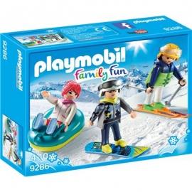 Playmobil® 9286 - Family Fun - Freizeit-Wintersportler