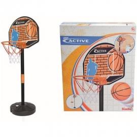 Simba - Be Active - Basketball Set mit Ständer