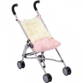 Käthe Kruse - Buggy pink mit Fellsack