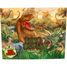 Depesche - Dino Stickerfun, Malbuch mit Stickerbogen