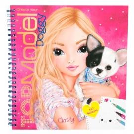 Depesche - Create your TOP Model Doggy Malbuch
