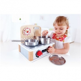 Hape - 2-in-1 Küchen- & Grill-Set