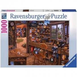 Ravensburger Puzzle - Opas Schuppen, 1000 Teile