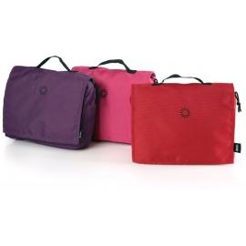 BRIO - Puppenwagen Wickeltasche, Uni, 3farbig sortiert viol./rot/pink