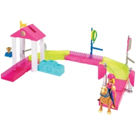 BRB On The Go Pony-Rennen Spielset