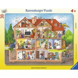 Ravensburger Puzzle - Blick ins Haus, 30 Teile