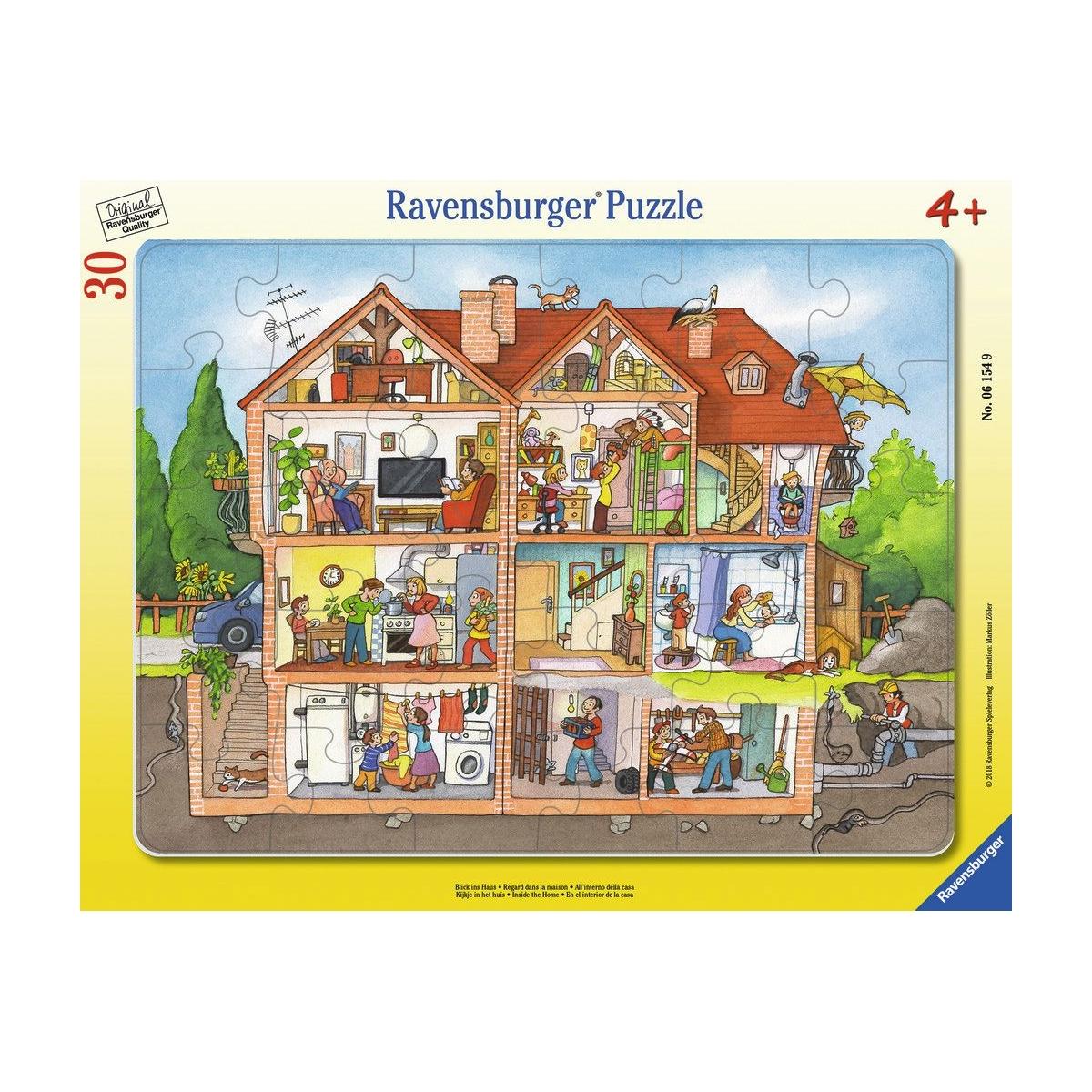 MUKK® Spielwaren Münster - Ravensburger Puzzle - Blick ins Haus, 30 ...