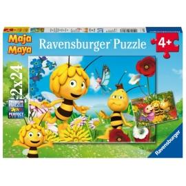 Ravensburger 78233 Puzzle: Biene Maja und ihre Freunde 2x24 Teile