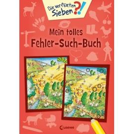 Die verflixten Sieben - Mein tolles Fehler-Such-Buch
