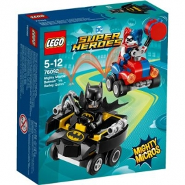 LEGO® DC Universe Super Heroes - 76092 Mighty Micros: Batman vs. Harley Quinn