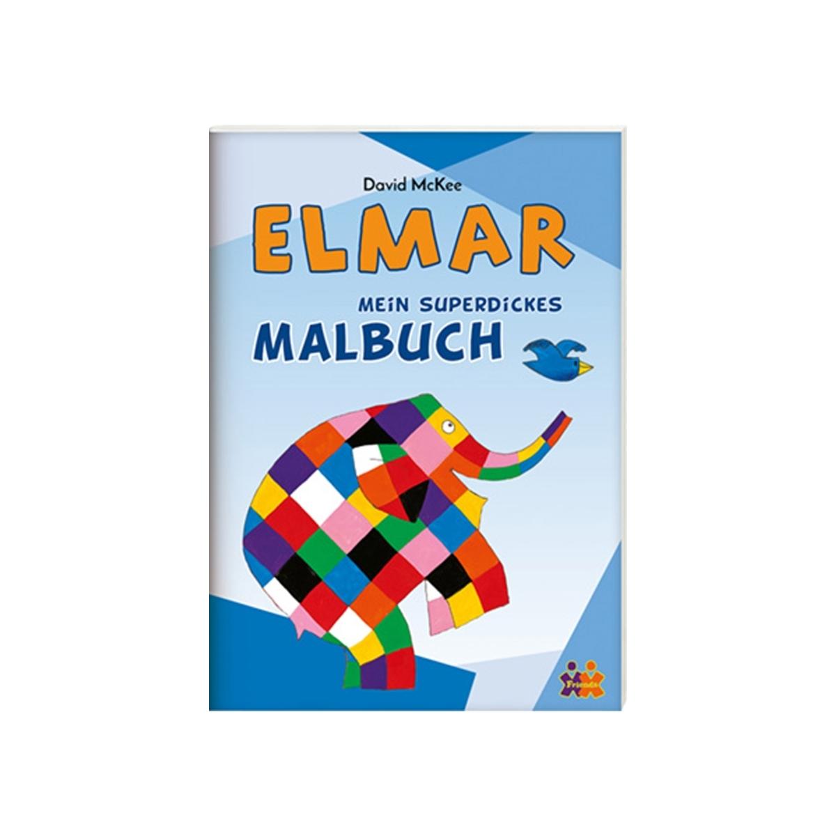 MUKK® Spielwaren Münster - Elmar - Mein superdickes Malbuch - Kids ...