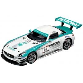 CARRERA DIGITAL 124 - Mercedes-Benz SLS AMG GT3   Petronas, No.28