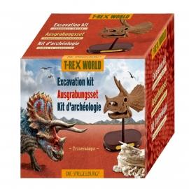 Die Spiegelburg - T-Rex World - Ausgrabungsset Dinoschädel Triceratops